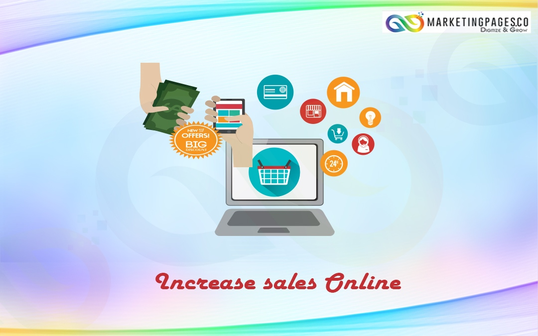 How to increase sales online?
